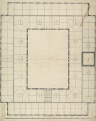 Plan of the Roof of the Royal Exchange